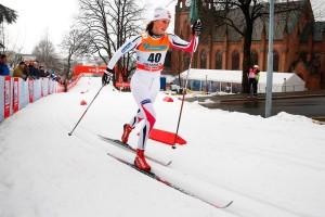 Vår landslagsløper Kari V Gjeitnes får testet formen på Beito
