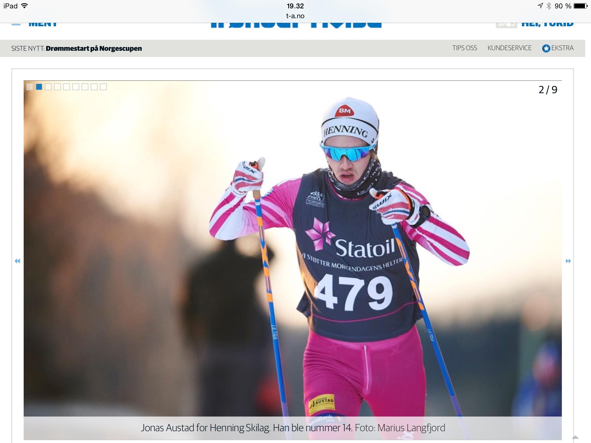 første vinner tour de ski
