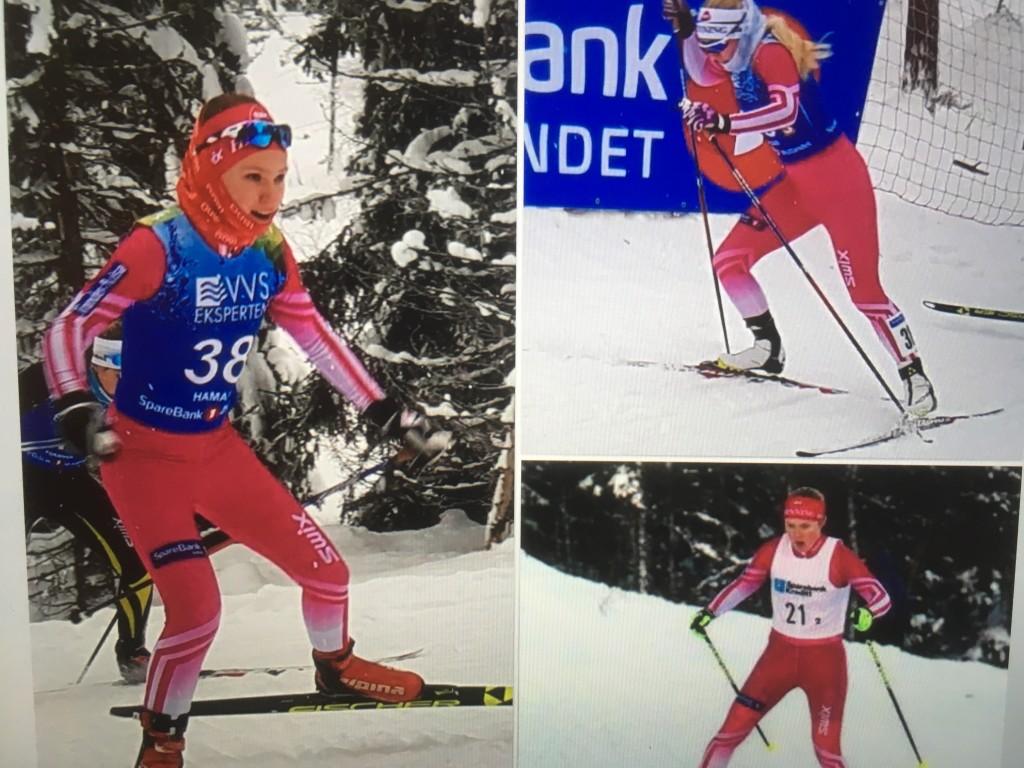 damelaget stafett NM -18